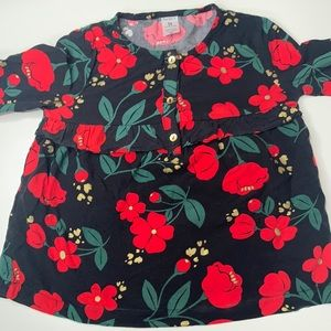 Carter's Girls Long Sleeve Shirt